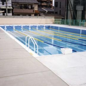 U中学校プール設置