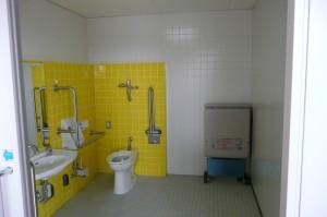 障害者用トイレ(リフォーム後)